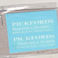 bnk jc Matchbox 46b Pickford Removal Van - decaluri