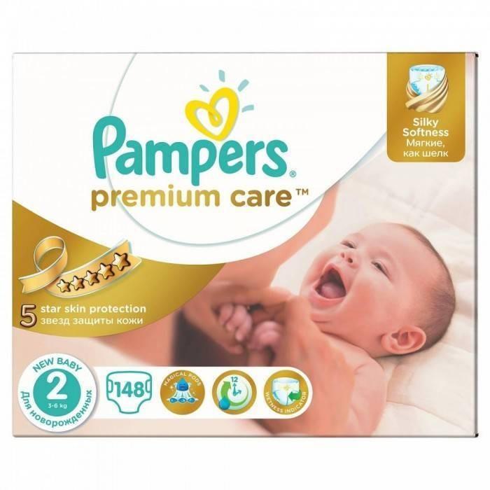 Scutece PAMPERS Premium Care 2 New Baby Mega Box 148 buc