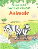 Animale - Prima mea carte de colorat  , Litera