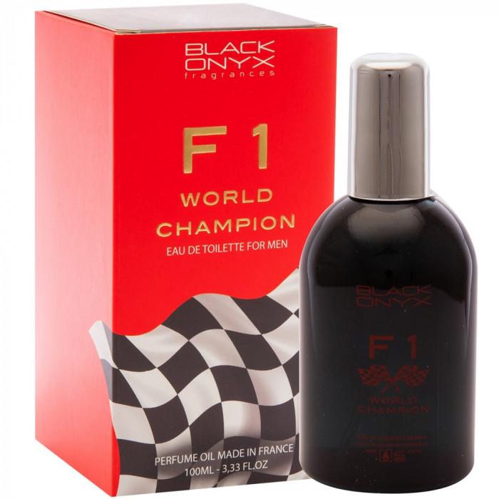 Apa de toaleta F 1 World Champion, 3,33 FL.OZ. 80% Vol. Alc, 100 ml, pentru barbati