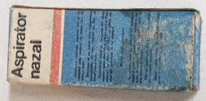 ASPIRATOR NAZAL la cutie originala anul 1983 CEAUSESCU - piesa de colectie
