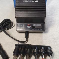 Alimentator 3V .4,5V . 6V . 7,5V . 9V . 12V  DC /500mA