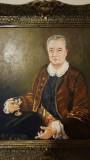 Pictura Portret Nobil - ulei pe panza, Portrete, Realism