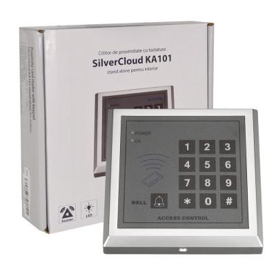 Resigilat : Cititor de proximitate cu tastatura SilverCloud KA101 stand alone pent foto
