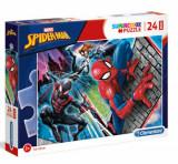 Cumpara ieftin Puzzle Maxi Super Color Spider-Man, 24 piese
