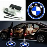 Cumpara ieftin Emblema Portiere Cu Logo BMW Set 2 Buc Proiector 3D cu LED