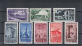 ROMANIA 1940  LP 141  STRAJA  TARII  VEDERI   SERIE  MNH, Nestampilat