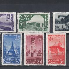 ROMANIA 1940  LP 141  STRAJA  TARII  VEDERI   SERIE  MNH