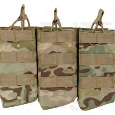 Portincarcator Triplu AK - Multicamo [8Fields]
