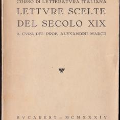 Letture scelte del secolo XIX