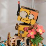 Cumpara ieftin Cutie Muzicală 3D Puzzle DIY Machinarium