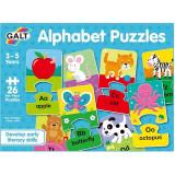 Cumpara ieftin Set 26 de puzzle-uri Alphabet, 2 piese, Galt