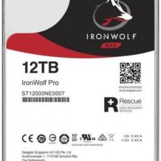 Hard Disk Seagate IronWolf Pro, 12TB, SATA-III, 7200RPM, 256MB