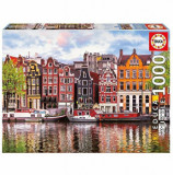 Cumpara ieftin Puzzle Dancing Houses, Amsterdam, 1000 piese, Educa
