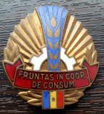 INSIGNA ROMANIA - FRUNTAS IN COOP. DE CONSUM