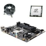 Kit Placa de Baza GIGABYTE GA-B250M-DS3H, Quad Core i5-7400, Cooler