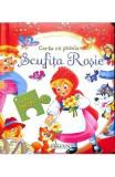 Scufita Rosie. Carte cu puzzle