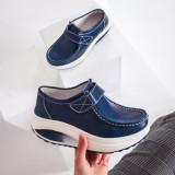 Pantofi dama Piele albastri Visva