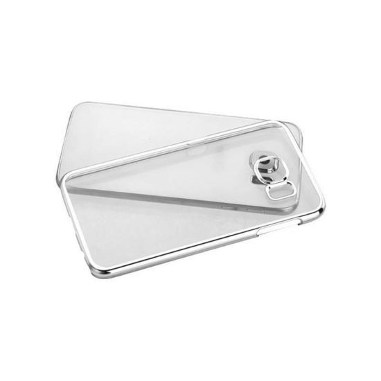 Husa Usams Kingsir Series Pentru Samsung Galaxy S6 Edge Argintiu