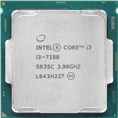 Procesor  Intel Core i3 7100, 3.9 GHz, 3 MB Cache, Kaby Lake, Sk 1151,cooler
