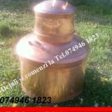 Cazan pt Tuica, de Cupru.Capaciate de 120 de litri.NOU!!