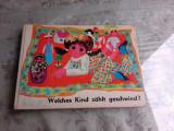 WELCHES KIND ZAHLT GESCHWIND? - CARTE PENTRU COPII, IN LIMBA GERMANA