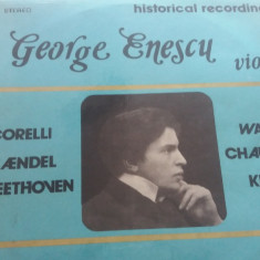 DISC VINIL GEORGE ENESCU - VIOLIN HISTORICAL RECORDINGS