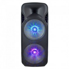 Boxa portabila, 38 cm, 150 W, functie USB/SD/BT/FM/Aux