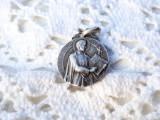 rezervat 01.08 - MEDALION argint SFANTUL IGNATIE foarte RAR de colectie VECHI