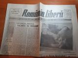 Ziarul romania libera 20 august 1990-art.de soria rosca stanescu