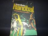 HANDBAL- MODELE DE JOC SI PREGATIRE-IOAN BOTA-203 PG-