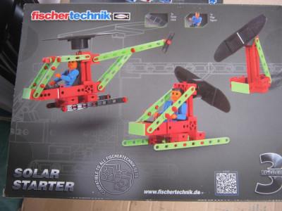 Joc lego Fischertechnik de constructii 83 piese foto