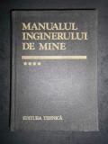 ARON POPA - MANUALUL INGINERULUI DE MINE volumul 4