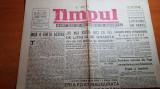ziarul timpul 19 februarie 1948-m. sadoveanu-romania si ungaria sunt tari amice