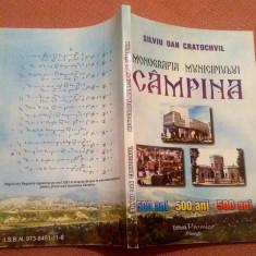 Monografia Municipiului Campina. Editura Premier, 2002 - Silviu Dan Cratochvil, Alta editura