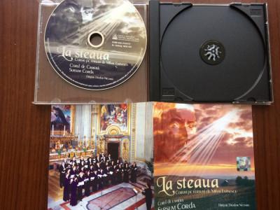 la steaua coruri pe versuri de mihai eminescu corul sursum corda nicoara cd disc foto