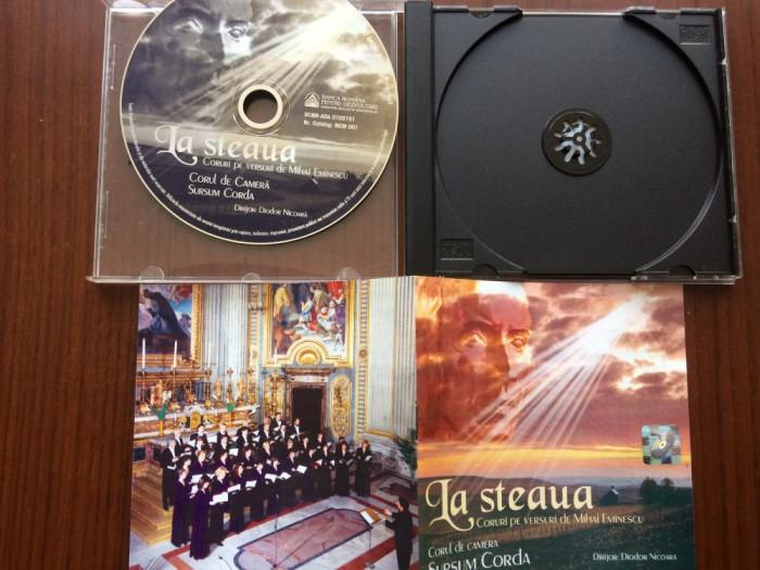 la steaua coruri pe versuri de mihai eminescu corul sursum corda nicoara cd disc