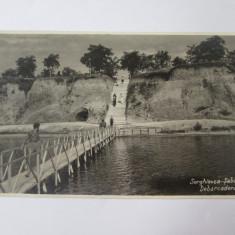 Rara! Basarabia/Serghievca-Șabolat(Cetatea Alba)/Debarcaderul,carte postala foto, Necirculata, Fotografie