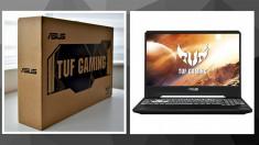 Laptop ASUS TUF FX505DU, AMD Ryzen 7-3750H, 8GB RAM, SSD 512GB, GTX 1660Ti 6GB foto