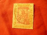 Timbru Jamaica 1919 colonie britanica , Arawak , val. 1p stampilat