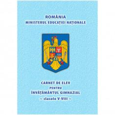 Carnet de elev clasele V-VIII - NEBO
