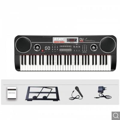 Orga electronica cu 61 de clape cu microfon