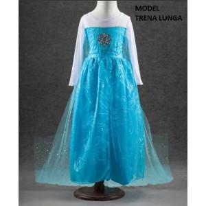 Rochita Elsa, Rochie Frozen, petrecere 3, 4, 5, 6, 7, 8 ani