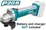 Polizor unghiular TIP ALIMENTARE ACUMULATOR Li Ion 20V 115mm (NU include acumulator si incarcator)