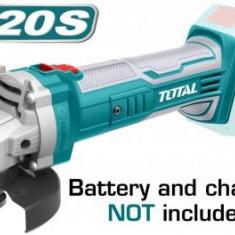 Cumpara ieftin Polizor unghiular - TIP ALIMENTARE ACUMULATOR Li-Ion - 20V - 115mm (NU include acumulator si incarcator)