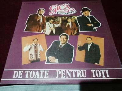 DISC VINIL GICA PETRESCU - DE TOATE PENTRU TOTI foto