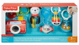 Set jucarii bebelusi Fisher-Price Tiny Take