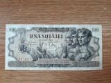 ROMANIA 100 Lei  IUNIE 1947 . VF- . Destul de rara in aceasta stare