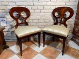 Pereche scaune stil biedermeier aprox.1900, 1900 - 1949