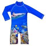 Costum de baie Coral Reef marime 74- 80 protectie UV Swimpy for Your BabyKids
